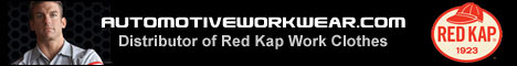 Red Kap Automotive Mechanics Clothing