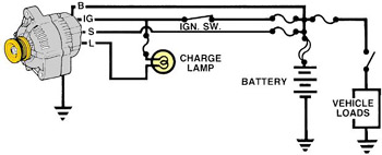 Wiring Diagram 1979 Jeep Cj7 furthermore 96 Ford F 250 460 Engine Diagram additionally Land Rover Discovery Crankshaft Sensor additionally Alt103 besides Heating Ac. on ford alt wiring